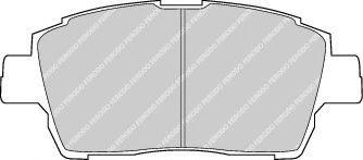 Brake pad set kashiyama C12086