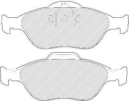 Тормозные колодки Ferodo  арт. FDB1394