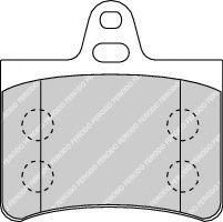Brake pad set gec KL0225