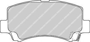 Тормозные колодки дисковые  арт. FDB1421