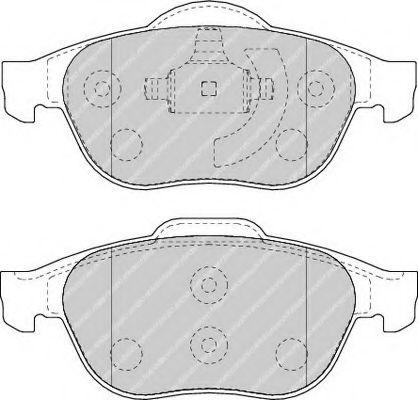 Brake pad set belaco TBP1214