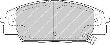 Колодки гальмівні дискові  арт. FDB1444