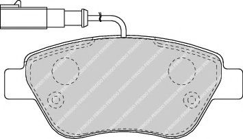 Колодки тормозные  арт. FDB1466