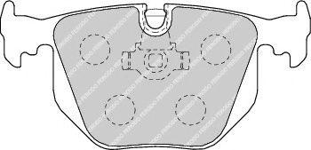 Гальмівні колодки дискові зад. BMW 3 (E46), 7 (E38), X3 (E83), X5 (E53), Z4 (E85), Z4 (E86) Land Rover Range Rover III 2.0-5.4 10.94-  FERODO FDB1483