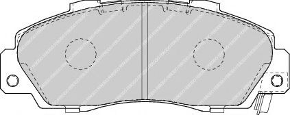 Тормозные колодки Ferodo  арт. FDB1505