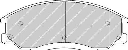 Гальмівні колодки, дискові  арт. FDB1605