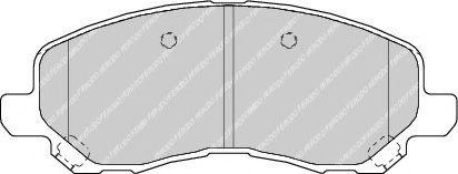 Тормозные колодки Ferodo  арт. FDB1621