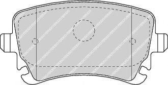 Колодки гальмівні дискові  арт. FDB1655