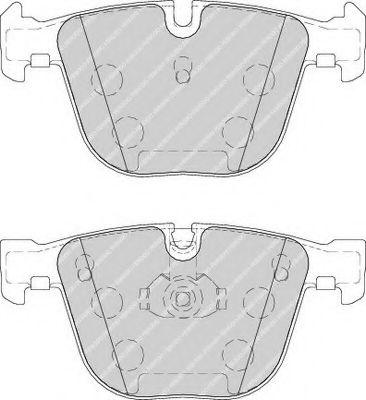 Колодки тормозные передние BMW 5 (E60)/7 (E65) 02-10 (ATE)  арт. FDB1672