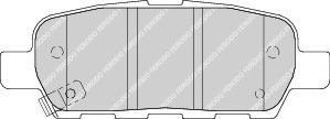 Тормозные колодки Ferodo  арт. FDB1693