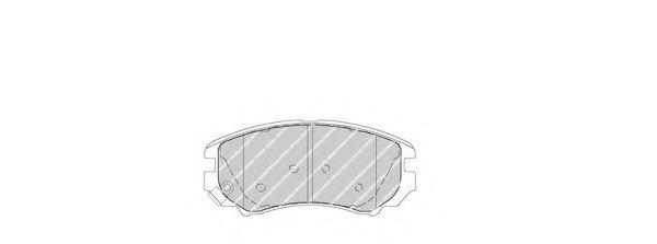 Тормозные колодки Ferodo  арт. FDB1733