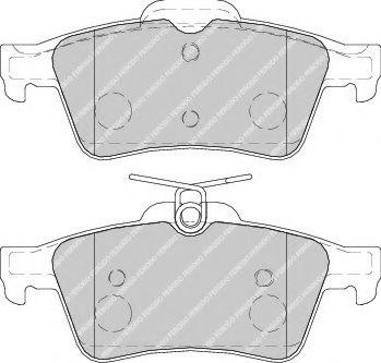 Гальмівні колодки, дискові  арт. FDB1766