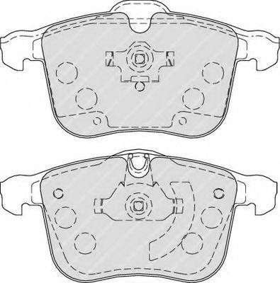 Тормозные колодки Колодки тормозные передние LPR арт. FDB1833