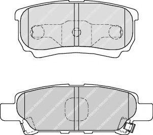 Тормозные колодки Ferodo  арт. FDB1839