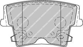Колодки гальмівні дискові  арт. FDB1953