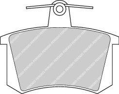 Тормозные колодки задние Audi 80/100/A4/A6 -97  арт. FDB222