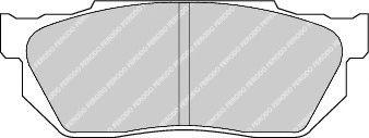 Гальмівні колодки, дискові  арт. FDB300