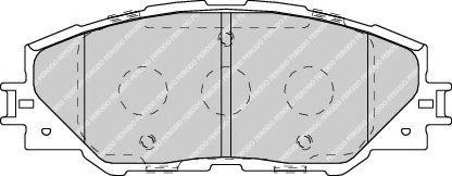 Гальмівні колодки дискові перед. Toyota Rav 4 III 2.0 VVT-i 06-/ Rav 4 USA 05- FERODO FDB4136