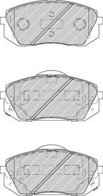 Колодки гальмівні дискові  арт. FDB4194