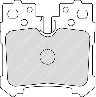 Гальмівні колодки зад. Lexus LS (UVF4_, USF4_) 460 06-  FERODO FDB4210