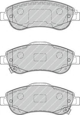 Гальмівні колодки дискові перед. Honda Cr-V III 2.2 Ctdi 07- FERODO FDB4228