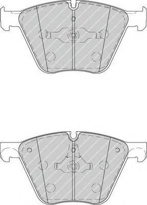 FDB4287 Тормозные колодки FERODO FDB4258