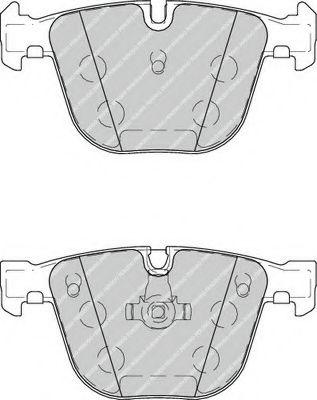 Колодки тормозные дисковые, к-кт.  арт. FDB4259