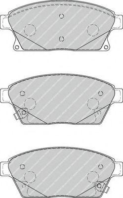 Колодки гальмівні дискові  арт. FDB4264