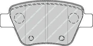 Гальмівні колодки, дискові FERODO FDB4316