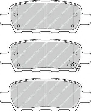 Тормозные колодки Ferodo  арт. FDB4324