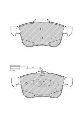 Колодки гальмівні дискові  арт. FDB4338