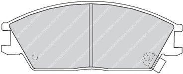 Колодки гальмівні дискові  арт. FDB435