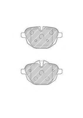 Колодки тормозные задние BMW 5 (F10)/X3 (F25) 10- (TRW)  арт. FDB4376