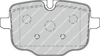 Гальмівні колодки зад. BMW 535i/550i/535d 10-  FERODO FDB4381