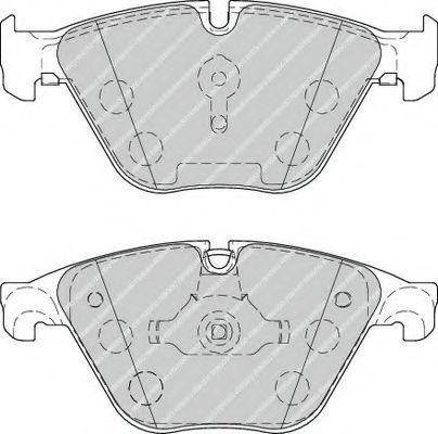 Гальмівні колодки, дискові FERODO FDB4382