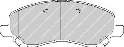 Гальмівні колодки, дискові  арт. FDB4388