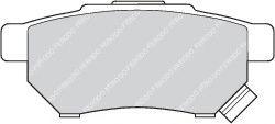 Колодки гальмівні дискові  арт. FDB621