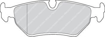 Комплект тормозных колодок, дисковый тормоз  арт. FDB632
