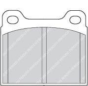 Колодки тормозные дисковые, к-кт.  арт. FDB704