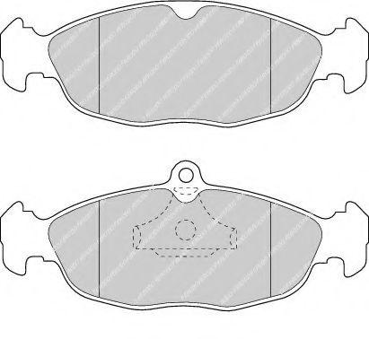 Колодки тормозные передние Astra F/Combo 91-01 (ATE)  арт. FDB732