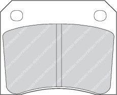 Тормозные колодки дисковые  арт. FDB815