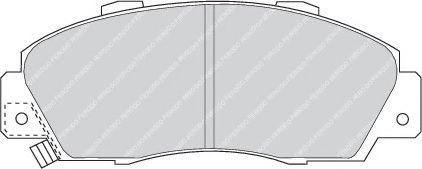 Гальмівні колодки, дискові  арт. FDB905
