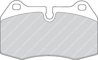 Тормозные колодки Ferodo  арт. FDB998