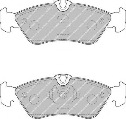 FVR1045Тормозные колодки Ferodo MB Sprinter FERODO FVR1876