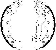 Гальмівні колодки, барабанні FERODO FSB691