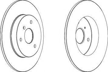 Тормозной диск FERODO DDF1111
