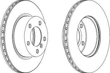 Тормозной диск FERODO DDF1229