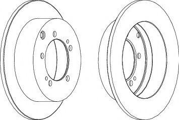 Тормозной диск FERODO DDF1410