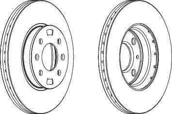Тормозной диск Ferodo  арт. DDF1603