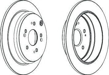 Тормозной диск Ferodo  арт. DDF1608